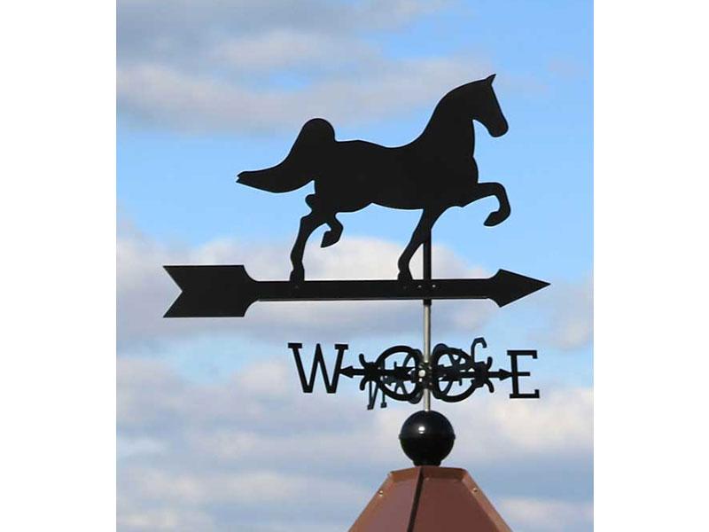 (0001) Horse Black Image