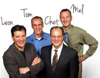 Leon, Tom, Chet, and Mel Beiler