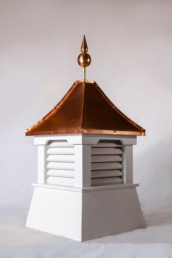 Beveled base amish country cupolas for Country cupola