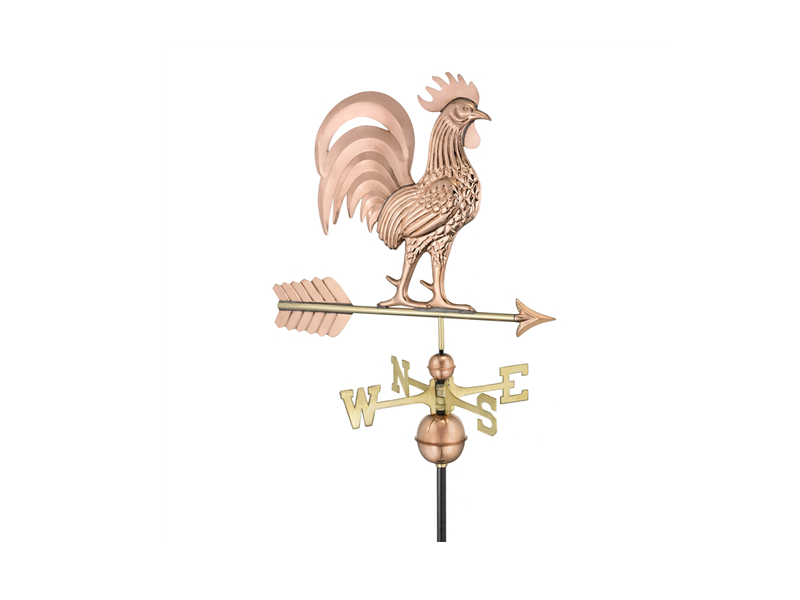 (#1973) Proud Rooster Weathervane Image