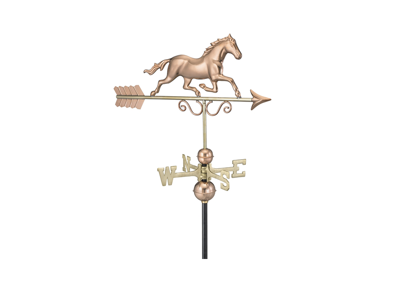 (#1974) Galloping Horse Weathervane Image