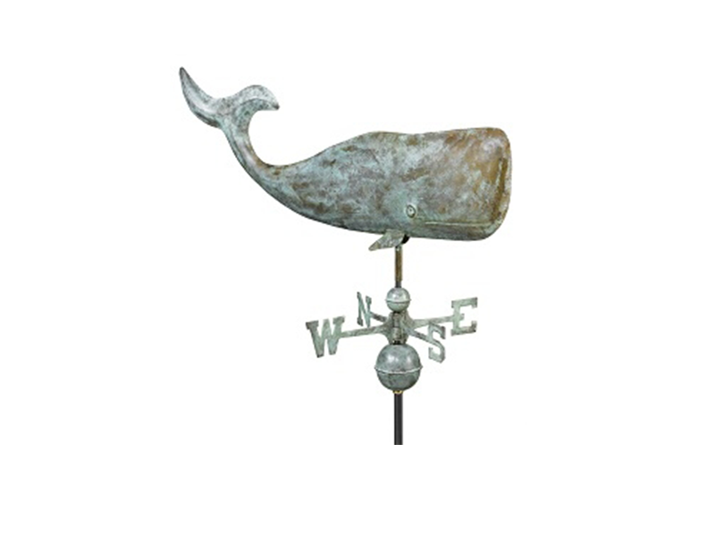 "(505) 37"" Large Whale Weathervane Image"