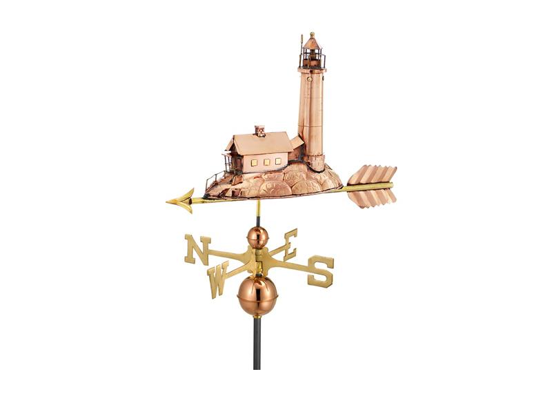 (#624)Lighthouse Weathervane Image