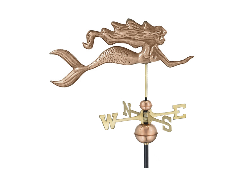 (#649) Mermaid Weathervane Image