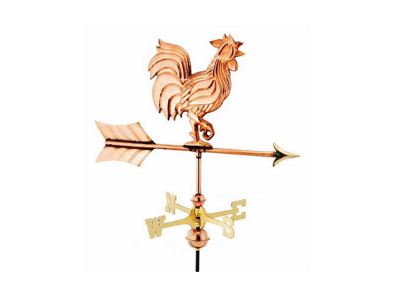(#802) Rooster Weathervane Image