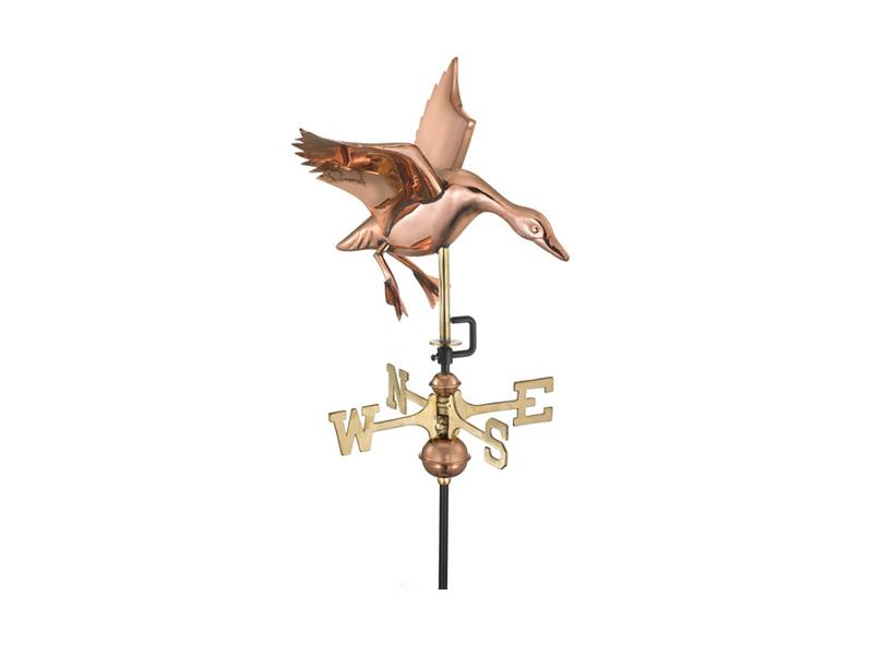 (#804) Landing Duck Weathervane Image
