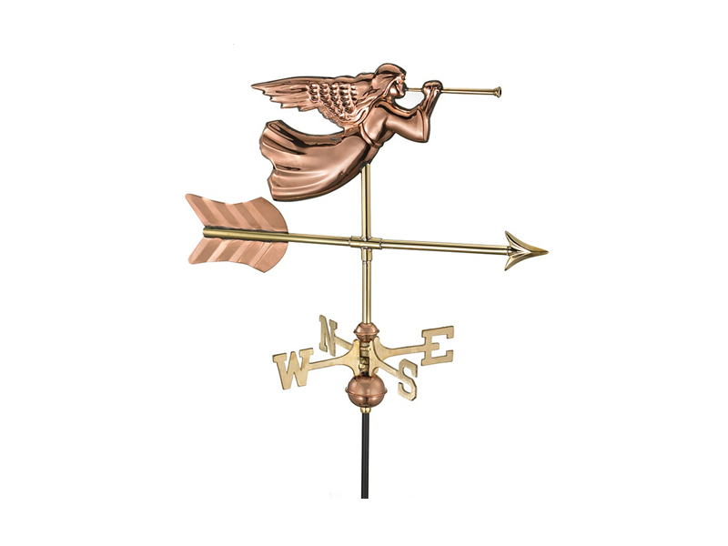 (#819) Angel Weathervane Image