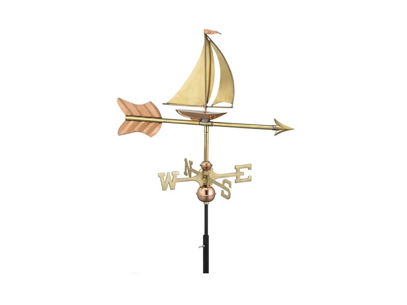 (#8803) Sailboat Weathervane Image