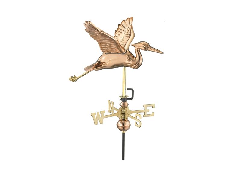 (#8805) Blue Heron Weathervane Image