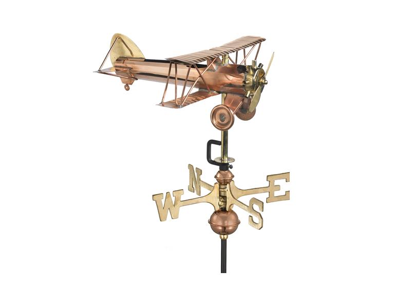 (#8812) Biplane Weathervane Image