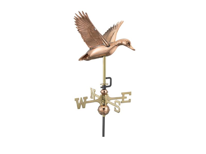 (#8844) Flying Duck Weathervane Image