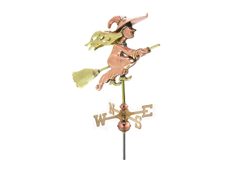 (#8849P) Witch Weathervane Image