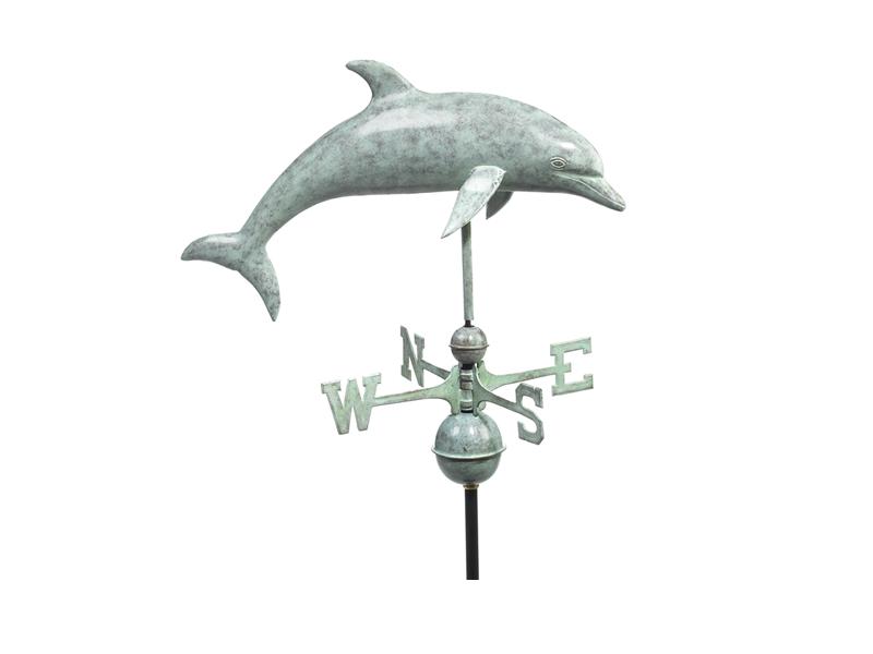 (#9507) Dolphin Weathervane Image