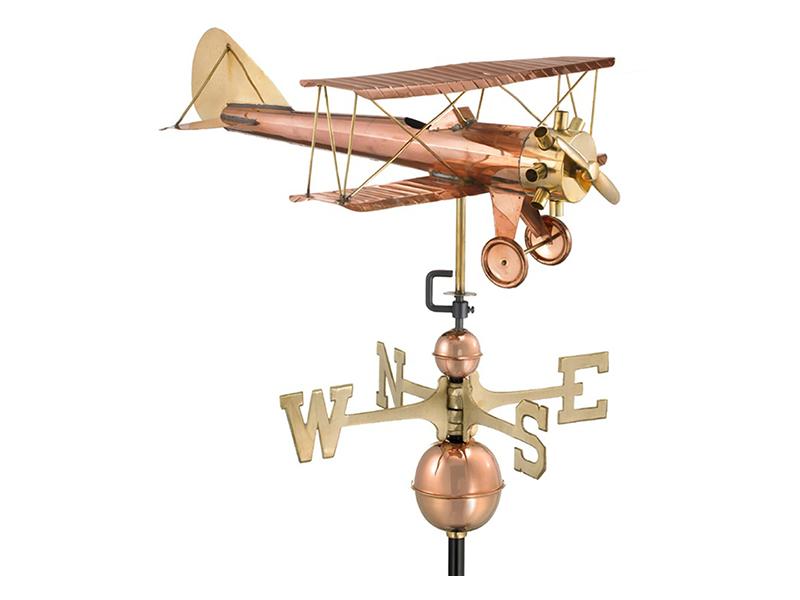 (9521) Biplane Weathervane Image