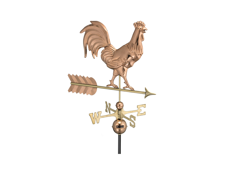 (#953) Smithsonian Rooster Weathervane Image