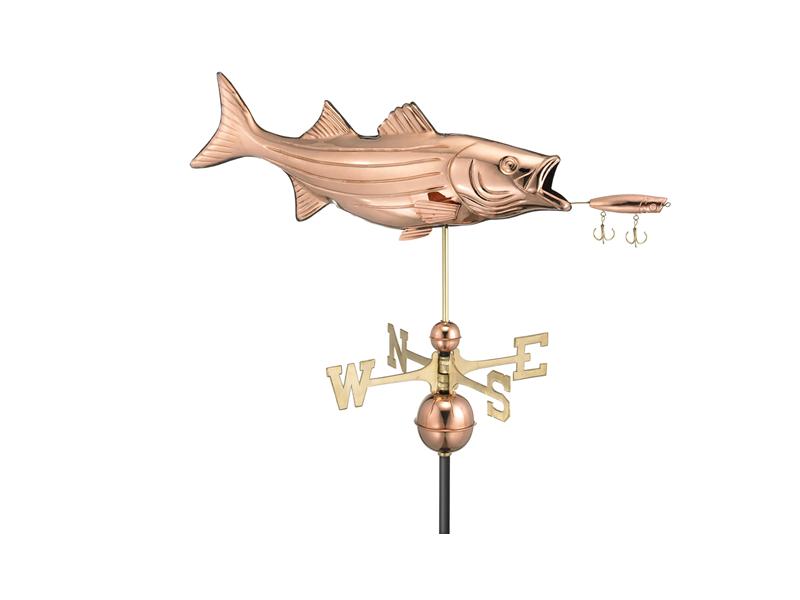 (9602) Bass & Lure Weathervane Image