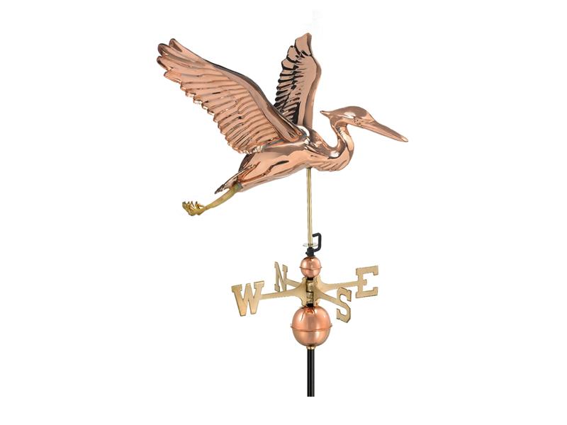 (9606) Blue Heron Weathervane Image