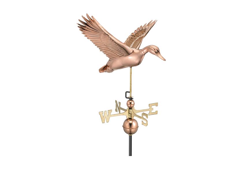 (9613) Flying Duck Weathervane Image