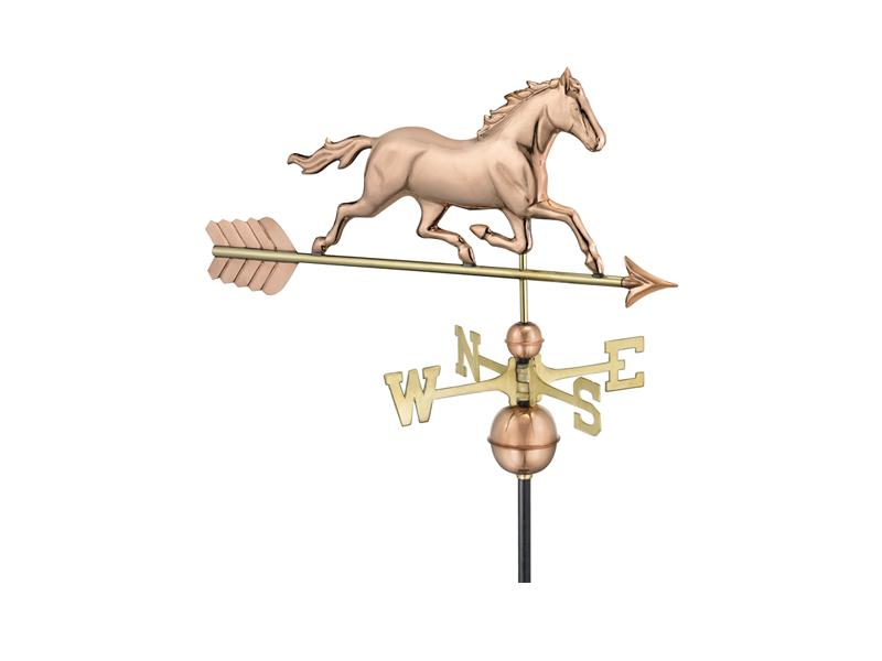(#967) Trotting Horse Weathervane Image