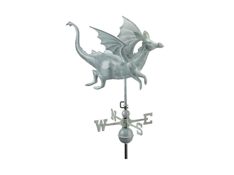 (#9672) Dragon Weathervane Image