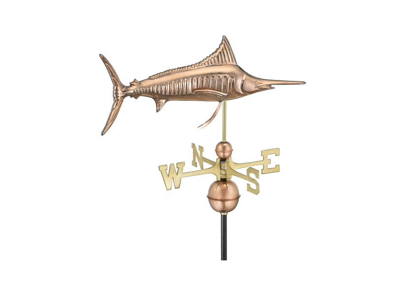 (#969) Marlin Weathervane Image