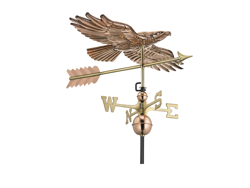 (#9699) Hawk Weathervane Image